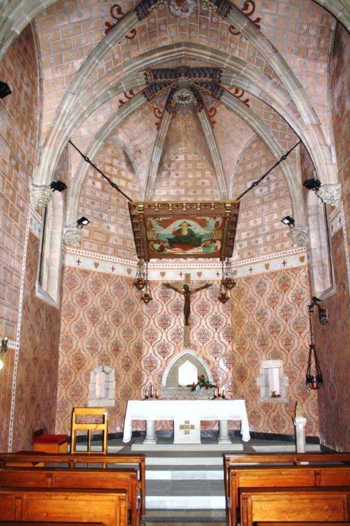 iglesia sant juliá. Argentona.