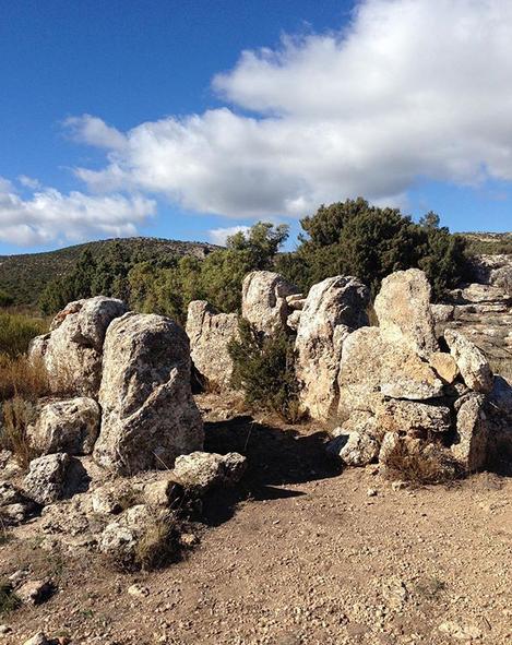 dolmen de bajil