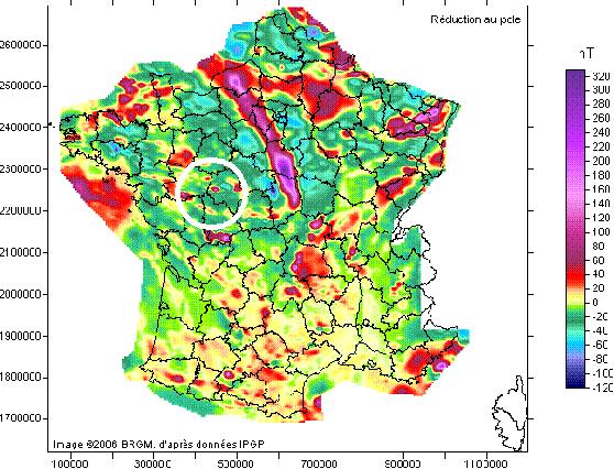 mapa anomalias