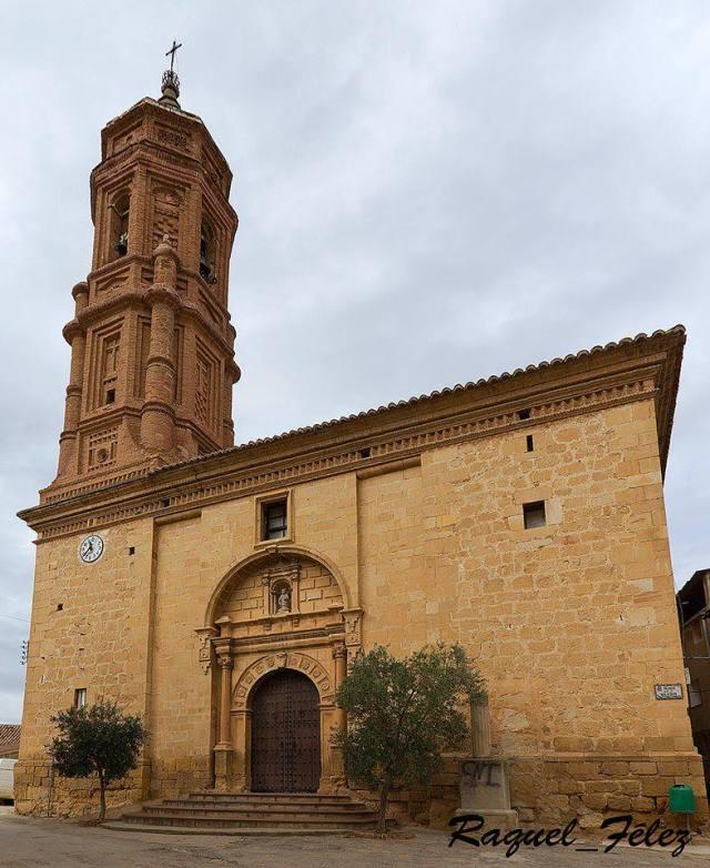 Iglesia de San Pedro Mártir.- Mudéjar-Barroco.- Siglo XVIII.- BERGE.