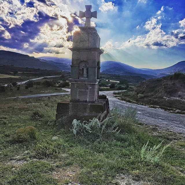 Peirón de San Blas.