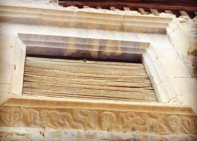 Tallados en ventana